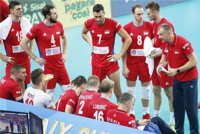 Odbojkaška reprezentacija Srbije foto:FIVB