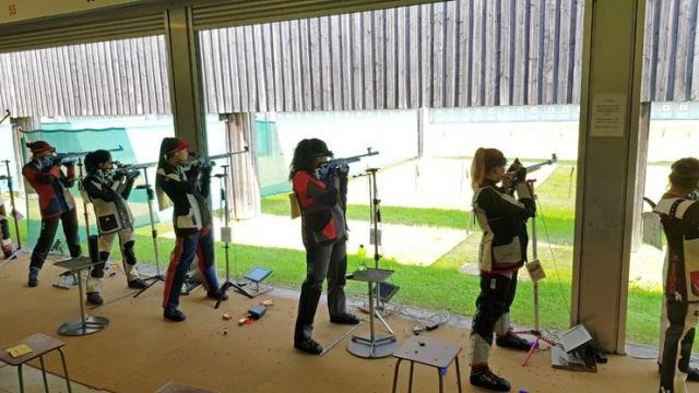 S juniorskog takmičenja u streljaštvu Foto: SSS