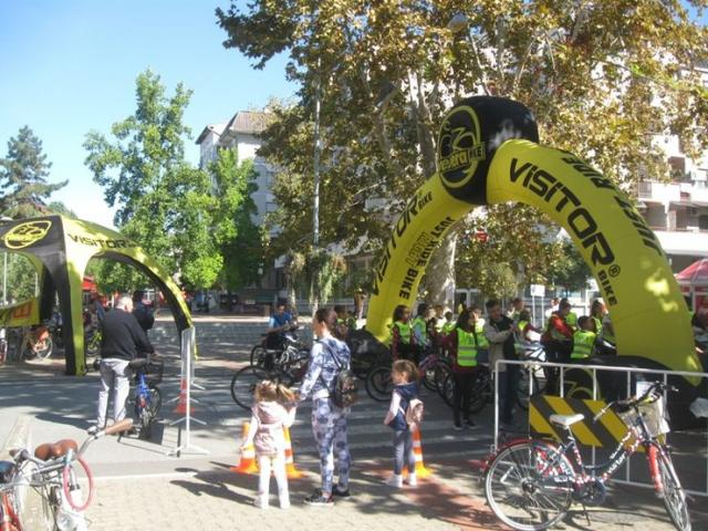 Petoro najboljih dobilo bicikle Foto: Dnevnik.rs