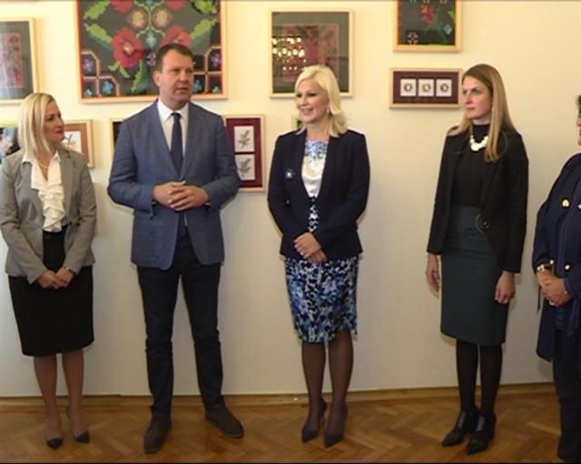 Otvoren Vojvođanski salon u Pokrajinskoj vladi Foto: Pokrajinska vlada