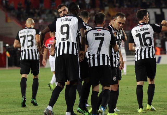 Radost igrača Partizana/FK Partizan/M. Todorović