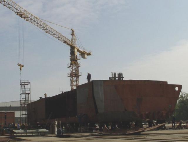 Brodogradilište iz Perleza Foto: Ž. Bugarski