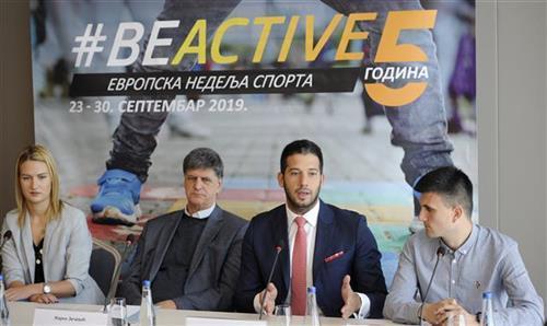 """Promocija """"Evropske nedelje sporta"""" Foto: Tanjug/video"""