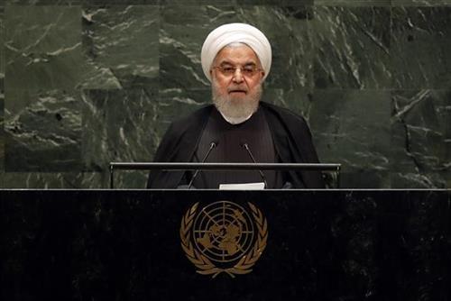 Iranski predsednik Hasan Rohani Foto: AP Photo/Richard Drew