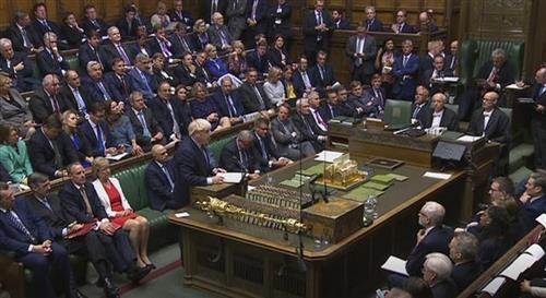Britanski parlament Foto: House of Commons via AP