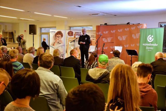 "U KCNS otvoren Međunarodni festival proze ""Prosefest"" Foto: V. Fifa"
