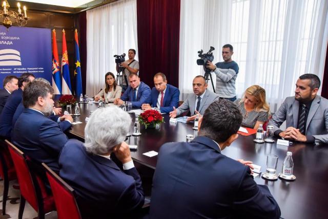 Milicevic, prijem delegacije sa Kipra-16