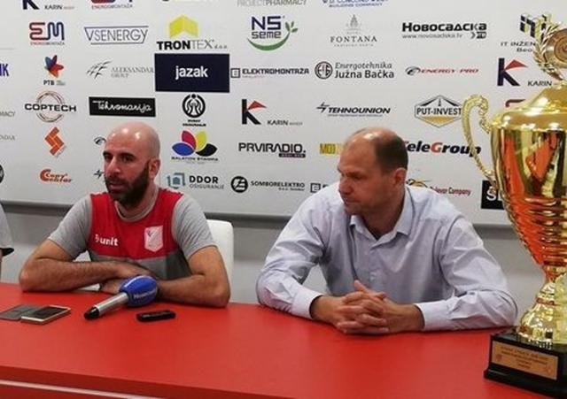Siniša Gavrančić i Nikola Salatić Foto: Dnevnik.rs