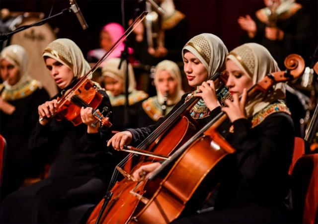 "Koncert orkestra ""Al Nour Wal Amal"" iz Egipta Foto: Pokrainska vlada"