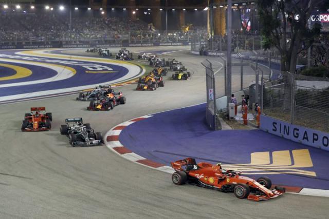 F1 Singapur/Fonet/AP