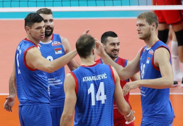 Odbojkaši Srbije znaju put do polufinala Evropskog prvenstva Foto: CEV