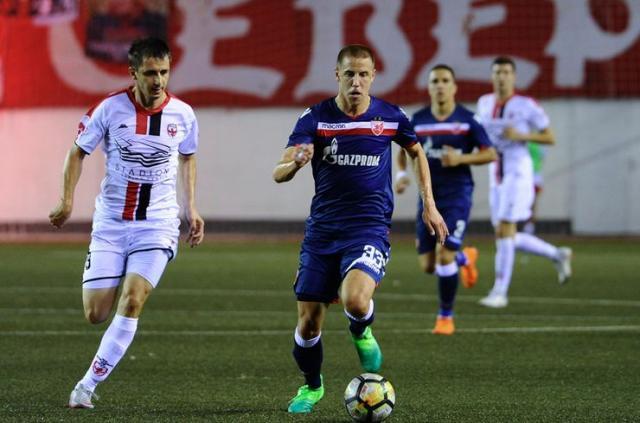 Detalj sa utakmice Voždovac – Crvena zvezda Foto: V. Vukanović