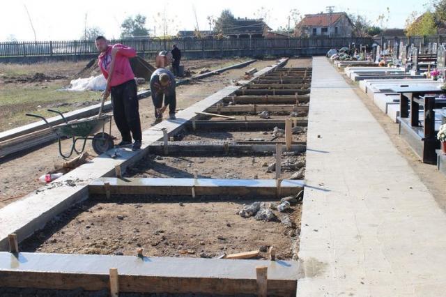 Proširuju se seoska groblja u opštini Ruma Foto:Opština Ruma