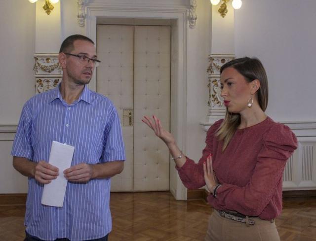 Aleksandar Dajko u Gradskoj kući Foto: Dnevnik.rs/R. Hadžić