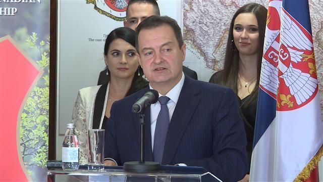 Ivica Dačić dodelio orden Milici Pivnički Foto: Tanjug/video