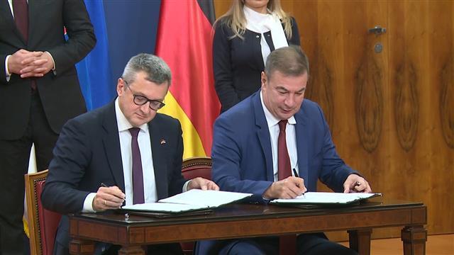 Potpisana dva sporazuma o saradnji sa nemačkim firmama Foto: Tanjug/video