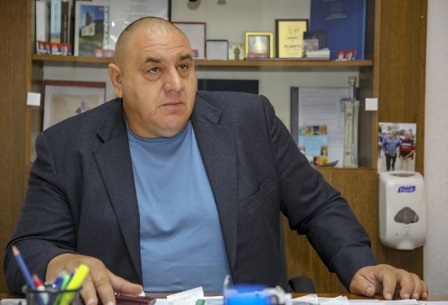 Predsednik opštine Mitar Milinković Foto: Radivoj Hadžić
