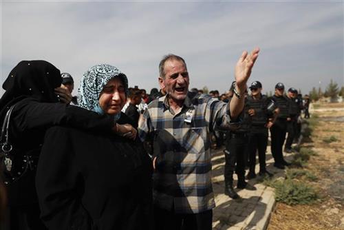 Izbeglice beže iz Turske Foto:  AP Photo/Lefteris Pitarakis