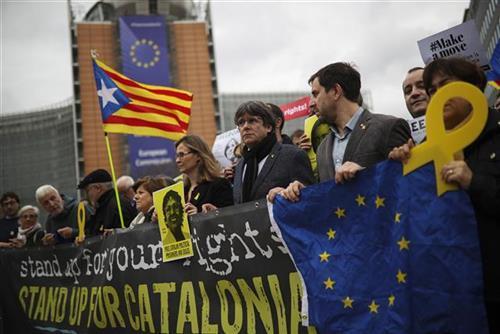 Protesti u Barseloni Foto: AP Photo/Francisco Seco