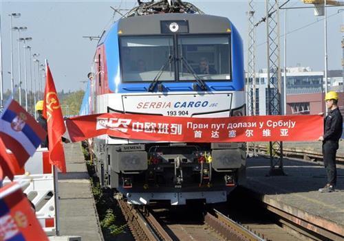 Stigao prvi teretni voz iz Kine sa opremom za brzu prugu Foto: Tanjug/video