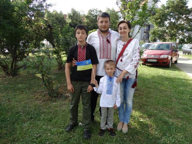 Porodica Vešnjeveckij Foto: privatna arhiva
