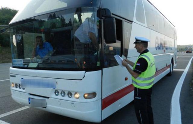 Kontrola prevoza dece Foto: mup.gov.rs