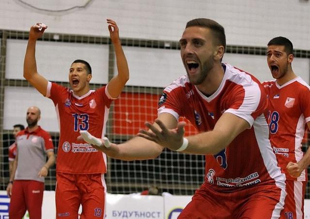 Nemanja Mašulović veruje da će Vojvodina biti uspešnija od  ekipe iz Niša   Foto: F. Bakić