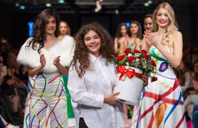 "Tara Katarina Ćirković na 13. ""Serbia Fashion Week""-u  Foto: Svetlana Braun"