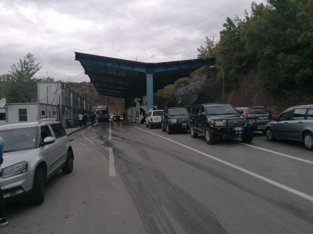 jarinje granicni prelaz, Tanjug/Mirjana Mitrović