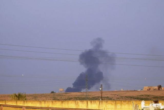Turska ofanziva u Siriji Foto: ANHA via AP