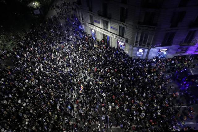 Barselona protesti/Fonet/AP