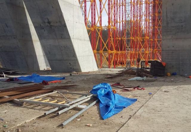 Mesto pada korpe za turskim radnicima Foto: D. Nikolić