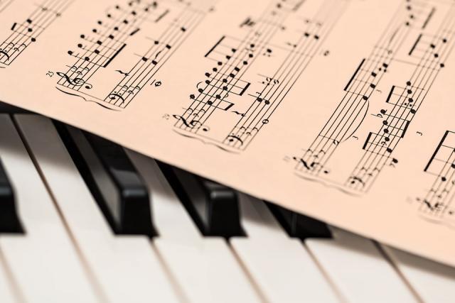 klasicna muzika note klavir pixa