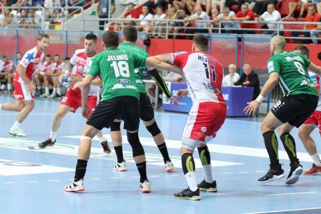 Detalj s utakmice Vojvodine i Neksea u Novom Sadu Foto: RK Vojvodina