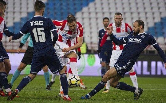 Fudbaleri Zvezde i TSC-a danas se bore za bodove  Foto: FK Crvena zvezda