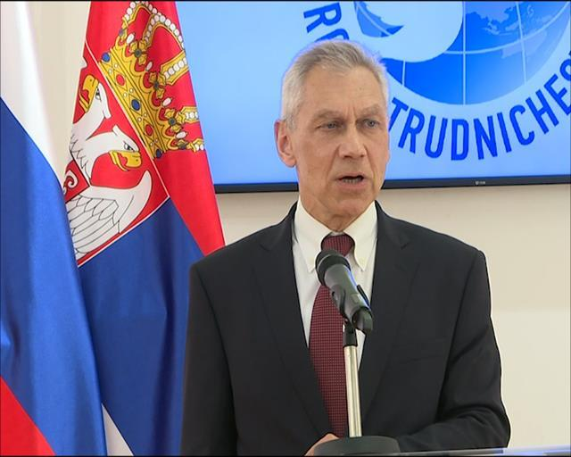 Ambasador Ruske Federacije u Srbiji Aleksandar Bocan-Harčenko Foto: Tanjug/video