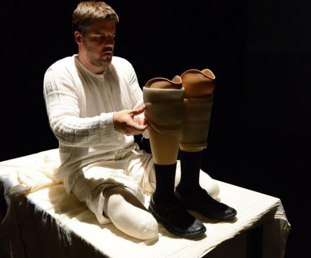 """Iz predstave """"Mahmud"""", u režiji Petera Srpčića, i izvođenju Mestnog gledališča iz Ptuja Foto: promo"""