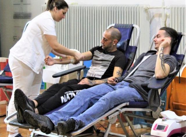 Akciji dobrovoljnog davanja krvi u Bečeju Foto: privatna arhiva