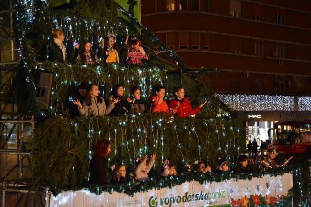 "U centru otvoren ""Novosadski vinter fest"" Foto: V. Fifa"