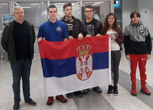 Репрезентација Србије до 16 година с капитеном Зораном Арсовићем