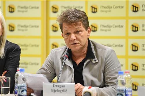 Dragan Bjelogrlić Foto: Tanjug/ D. Kujundžić