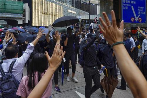 Protesti u Hongkongu Foto: AP Photo/Vincent Yu