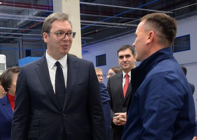 Predsednik Srbije Aleksandar Vučić Foto: Tanjug/Prededništvo Srbije