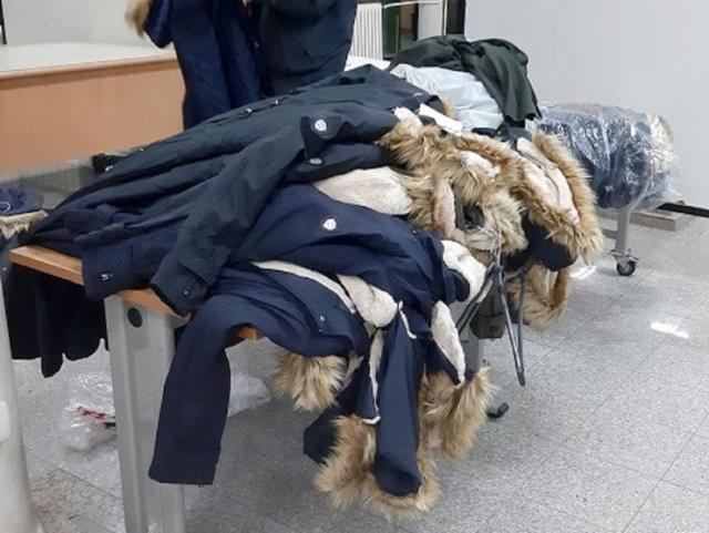na Gradini zaplenjena zimska garderoba Foto: Uprava carina