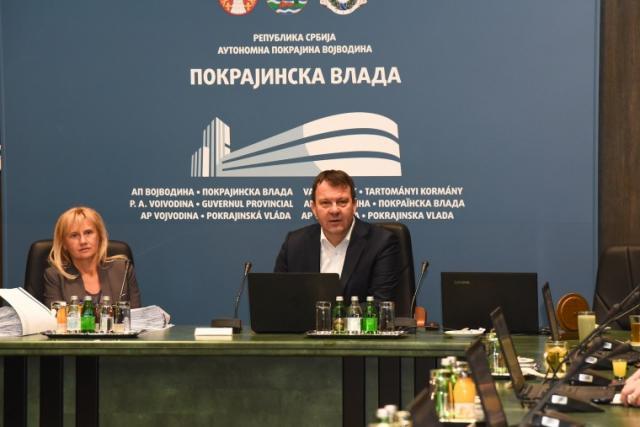Sednica Pokrajinske vlade Foto: Pokrajinska vlada