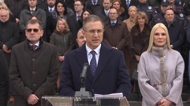 Nebojša Stefanović, ministar unutrašnjih poslova Foto: Tanjug/video