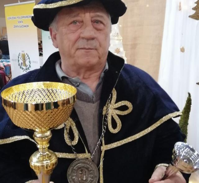 Šandor Kohanec iz Temerina Foto: M. Mitrović