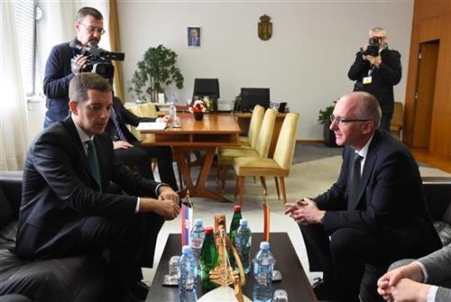 Djurić i Šib Foto: Tanjug/ D. Kujundžić