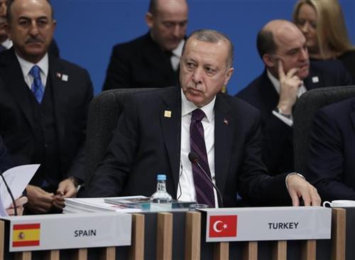 Redžep Tajip Erdogan Foto. AP Photo/Evan Vucci
