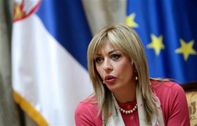Ministar za evropske integracije Jadranka Joksimović Tanjug (S. Radovanović, arhiva)